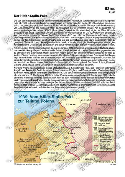 1939: Vom Hitler-Stalin-Pakt zur Teilung Polens