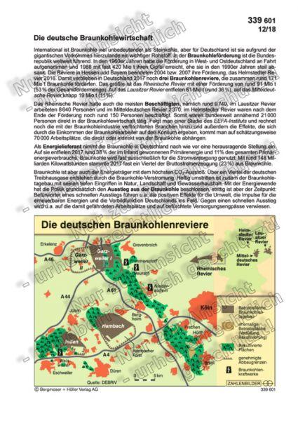 Die deutsche Braunkohlewirtschaft