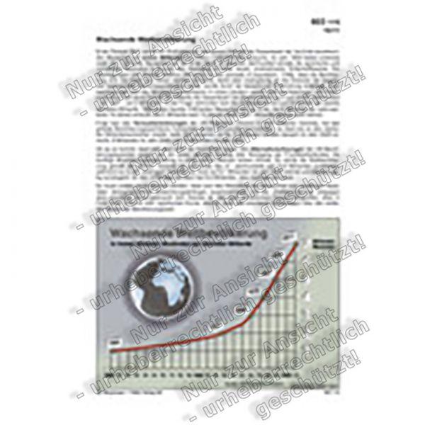 Wachsende Weltbevölkerung
