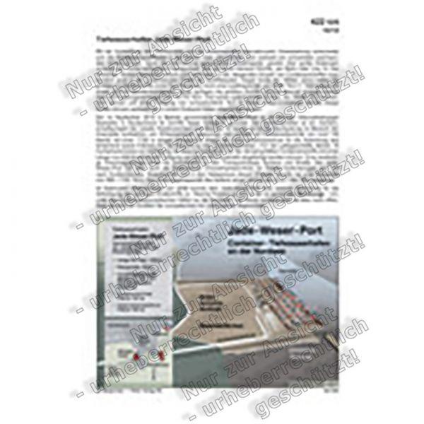 Tiefwasserhafen Jade-Weser-Port