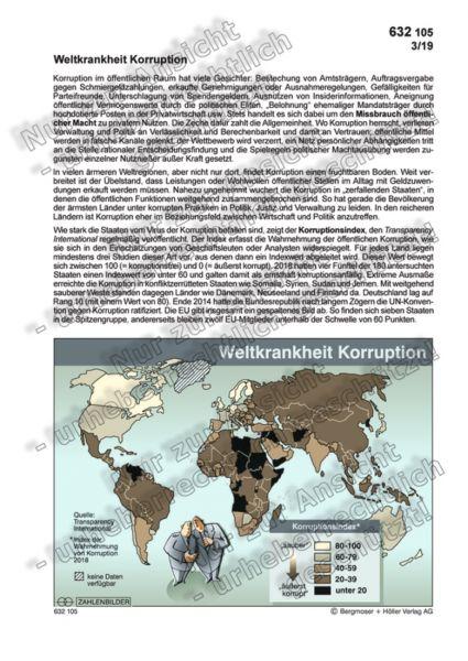 Weltkrankheit Korruption