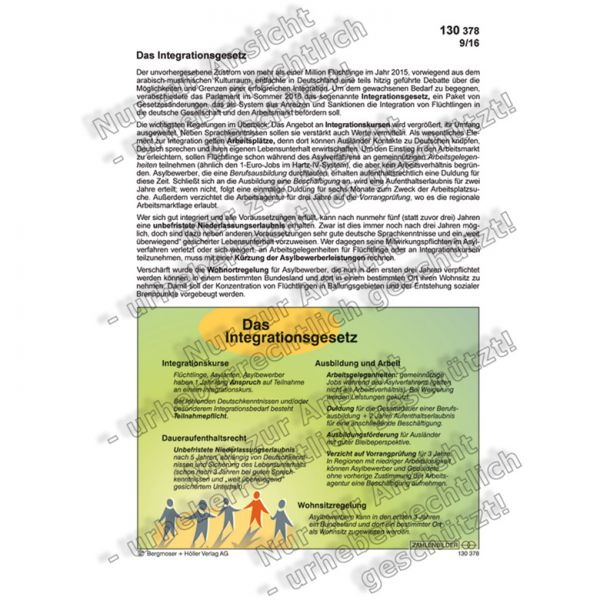 Das Integrationsgesetz
