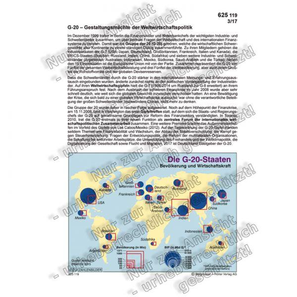 G-20 - Gestaltungsmächte der Weltwirtschaftspolitik