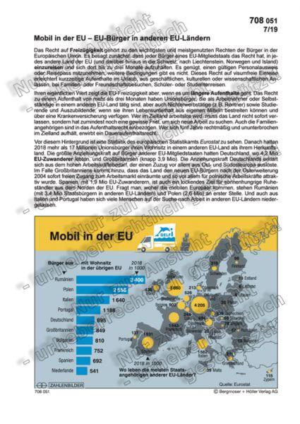Mobil in der EU – EU-Bürger in anderen EU-Ländern