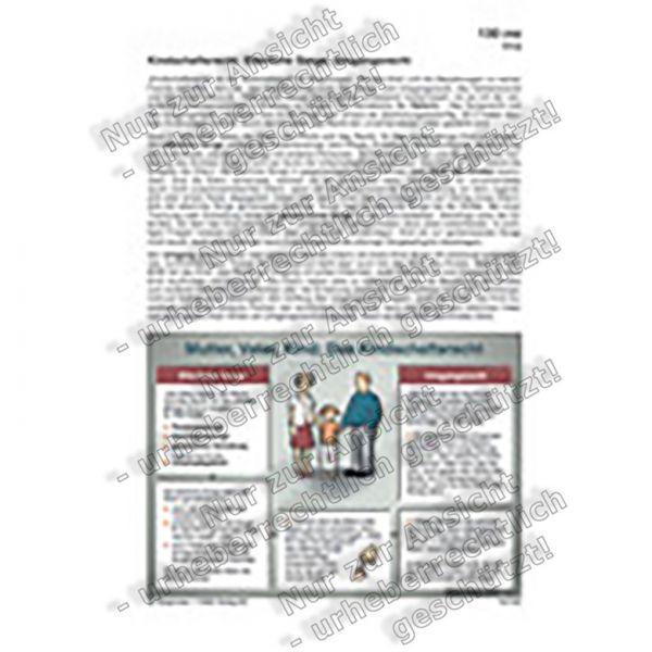Mutter, Vater, Kind: Das Kindschaftsrecht