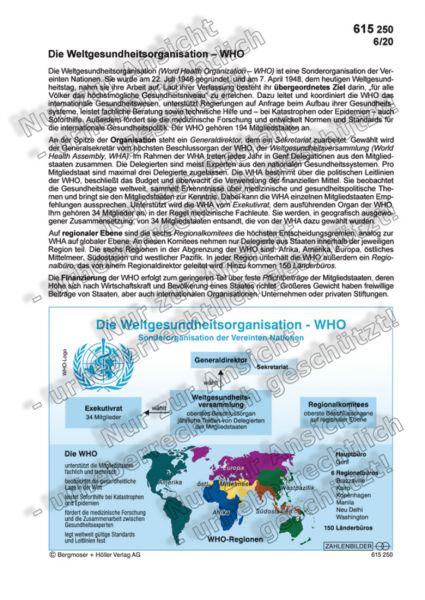 Die Weltgesundheitsorganisation - WHO