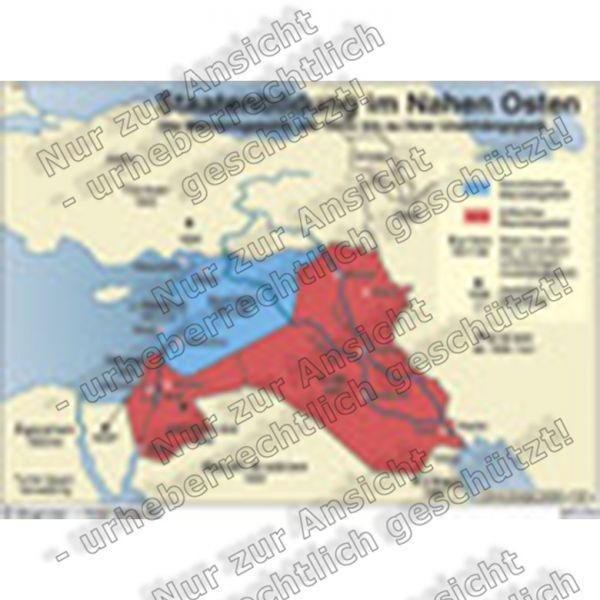 Staatenbildung im Nahen Osten - Mandatsgebiete