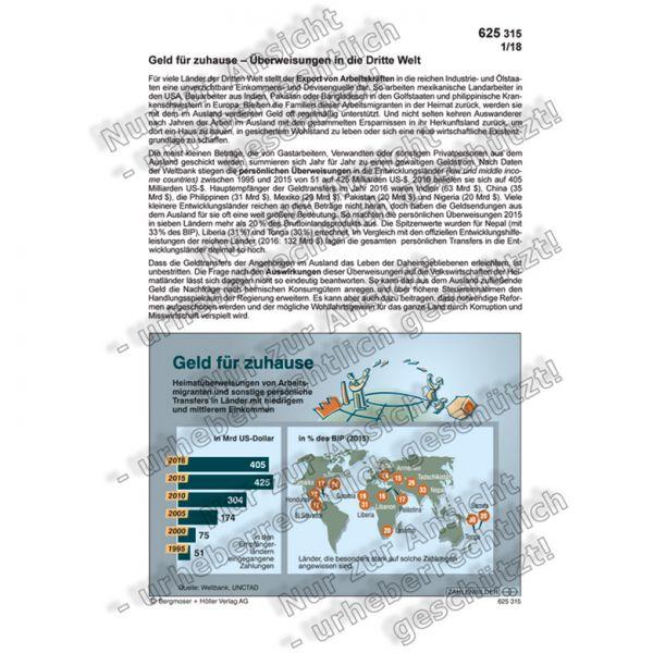 Geld für zuhause - Überweisungen in die Dritte Welt
