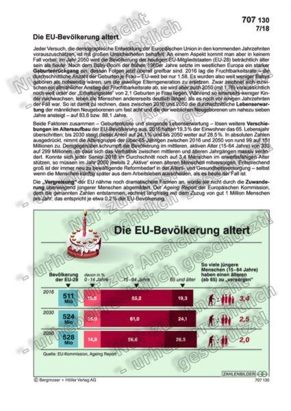 Die EU-Bevölkerung altert