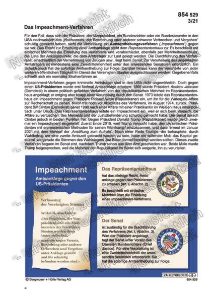 Das Impeachment-Verfahren