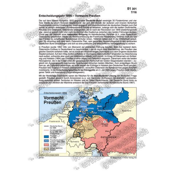 Entscheidungsjahr 1866 - Vormacht Preußen