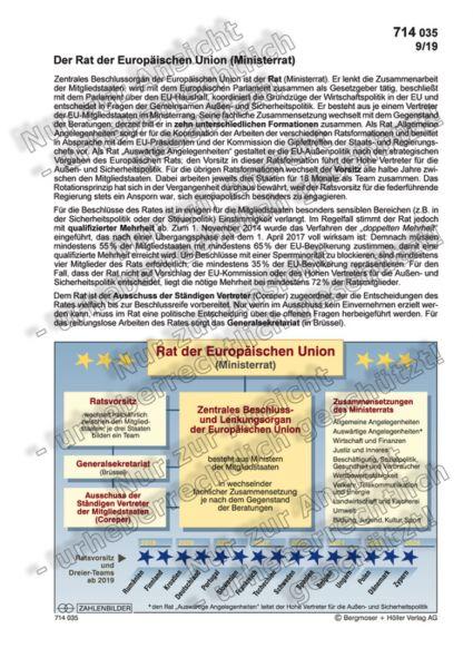 Rat der Europäischen Union (Ministerrat)