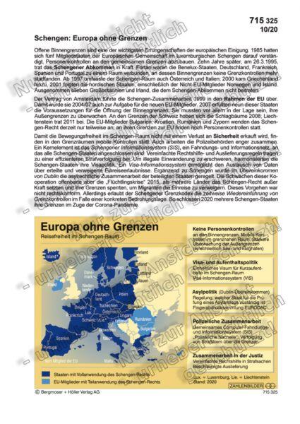 Schengen: Europa ohne Grenzen