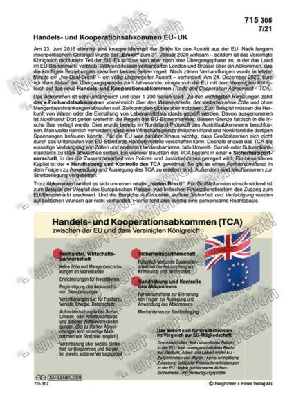 Handels- und Kooperationsabkommen EU-UK