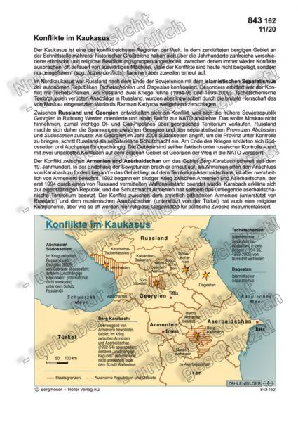 Konflikte im Kaukasus