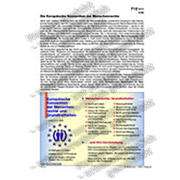 Europäische Konvention der Menschenrechte und Grundfreiheiten