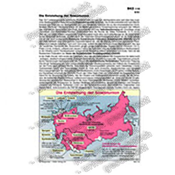 Die Entstehung der Sowjetunion