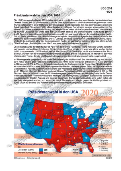 Präsidentenwahl in den USA 2020