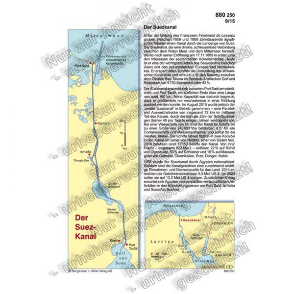 Der Suezkanal