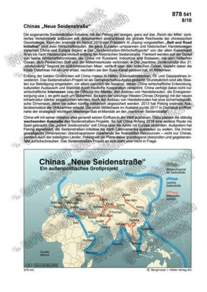"""Chinas """"Neue Seidenstraße"""""""