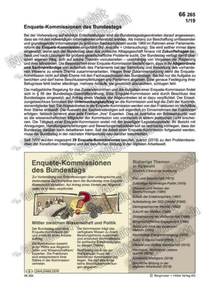Enquete-Kommissionen des Bundestags