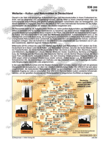 Welterbe - Kultur- und Naturstätten in Deutschland
