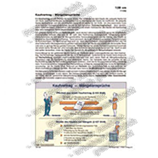Kaufvertrag - Mängelansprüche