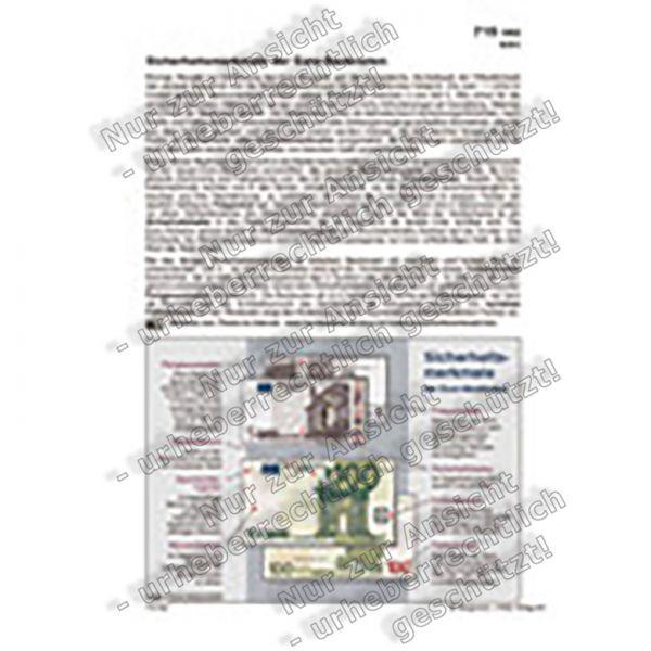 Sicherheitsmerkmale der Euro-Banknoten