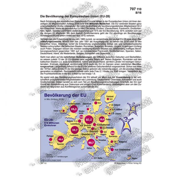 Die Bevölkerung der Europäischen Union
