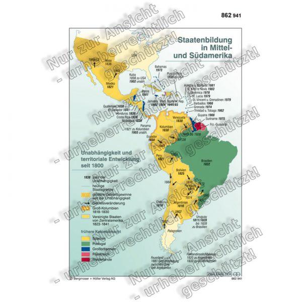 Staatenbildung in Mittel- und Südamerika