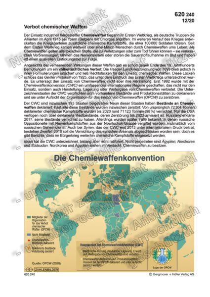 Verbot chemischer Waffen