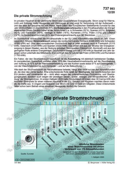 Die private Stromrechnung