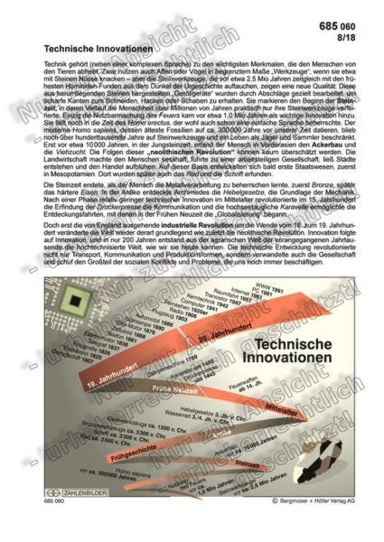 Technische Innovationen - Vom Faustkeil zum Internet
