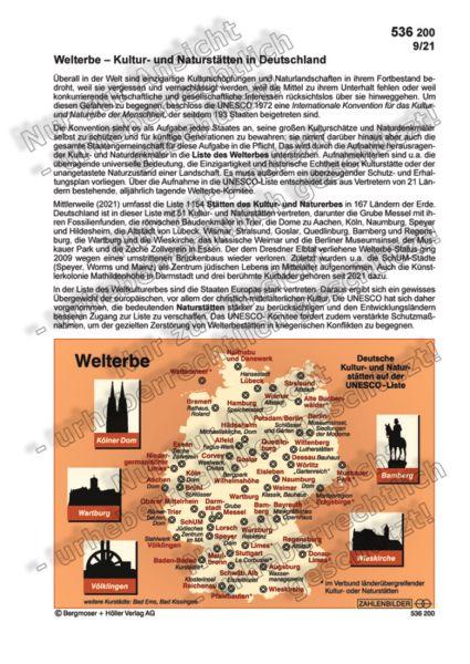 Welterbe – Kultur- und Naturstätten in Deutschland