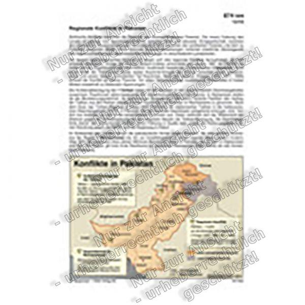Regionale Konflikte in Pakistan