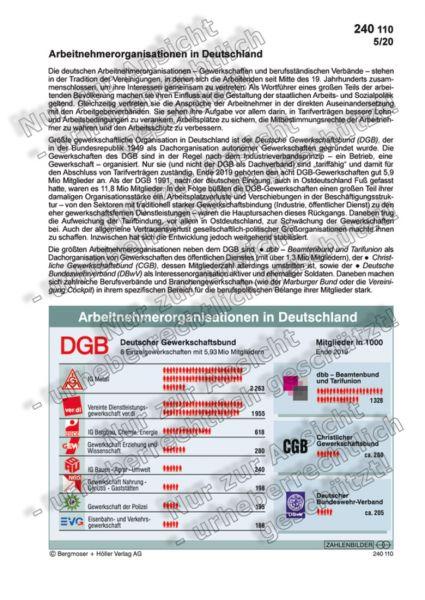 Arbeitnehmerorganisationen in Deutschland