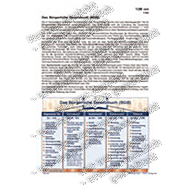 Das Bürgerliche Gesetzbuch (BGB)