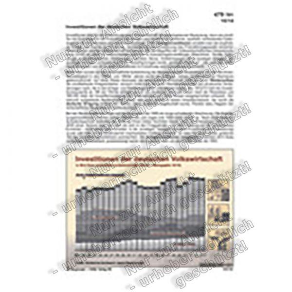 Investitionen der deutschen Volkswirtschaft