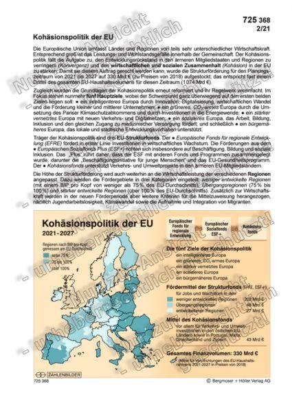 Die Kohäsionspolitik der EU