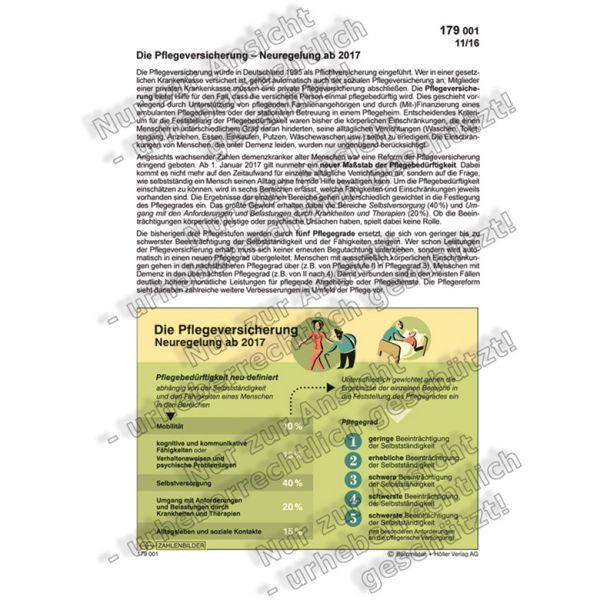 Die Pflegeversicherung - Neuregelung 2017