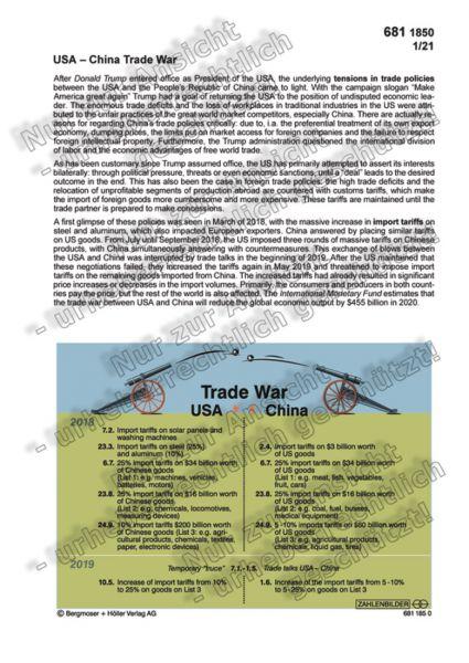 USA - China Trade War