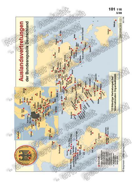 Auslandsvertretungen der Bundesrepublik Deutschland