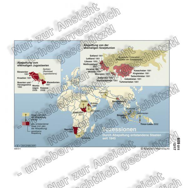 Sezessionen seit 1945 (Bild)