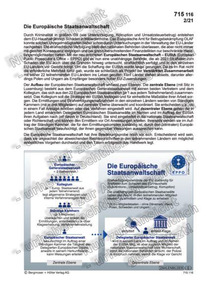 Die Europäische Staatsanwaltschaft