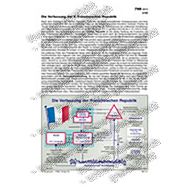 Die Verfassung der Französischen Republik