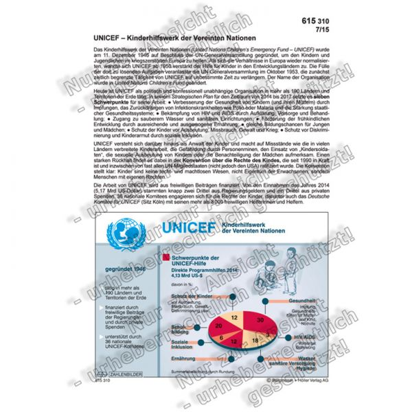 UNICEF - Kinderhilfswerk der Vereinten Nationen