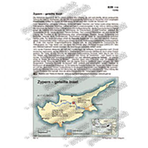 Zypern - geteilte Insel