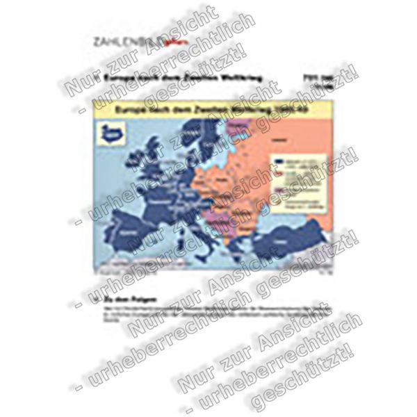 Europa nach dem Zweiten Weltkrieg 1945/49