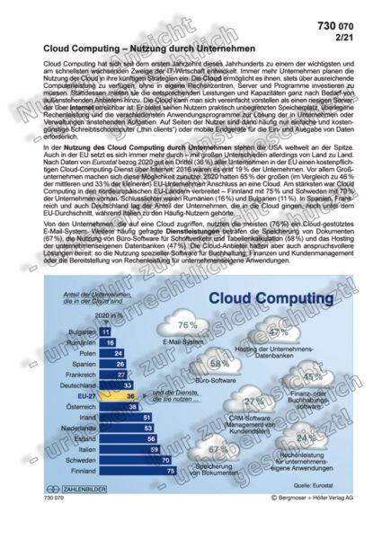 Cloud Computing - Nutzung durch Unternehmen