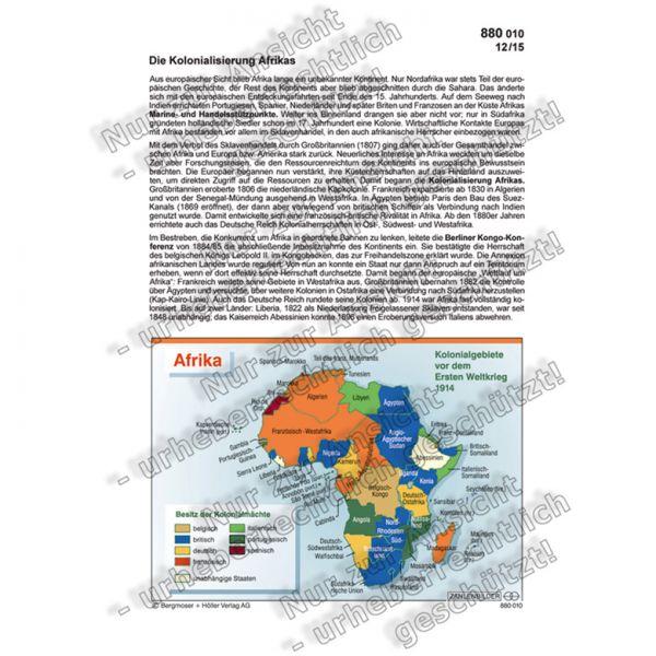 Die Kolonialisierung Afrikas
